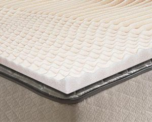 Convolute Mattress Cushion on Mattress