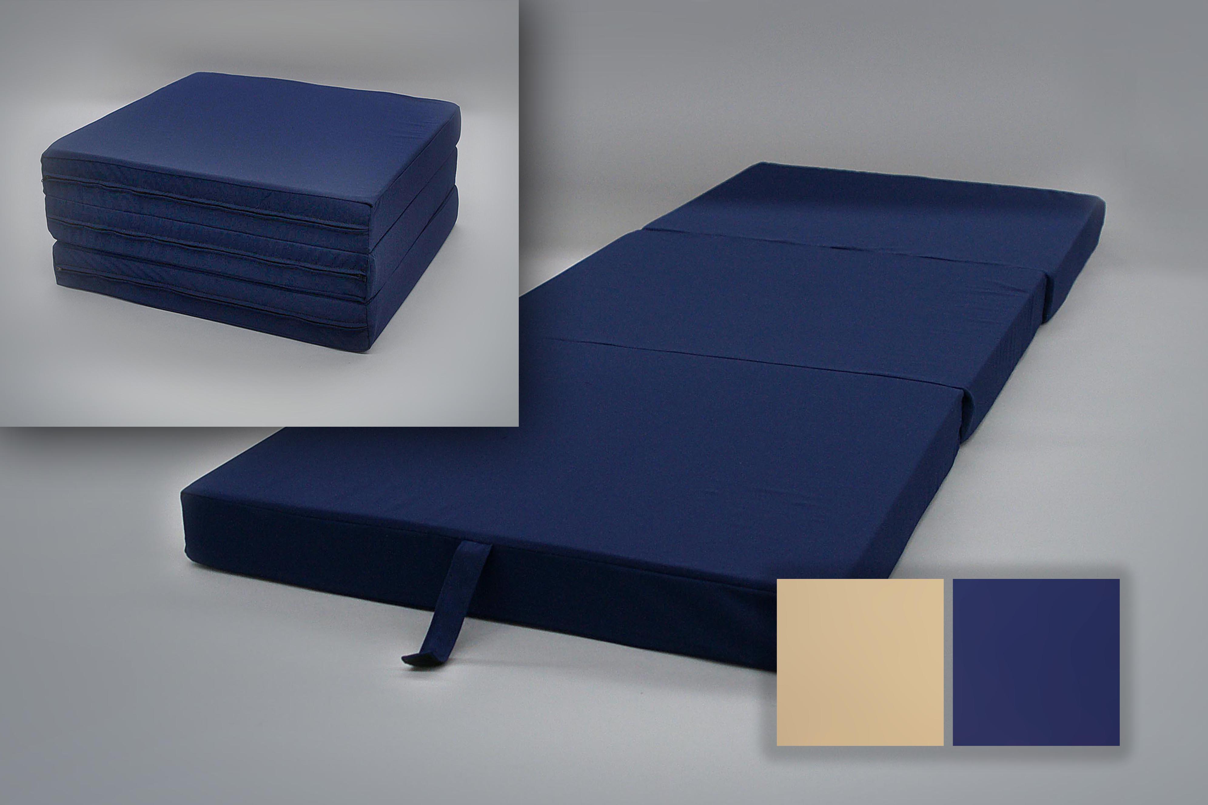 Cotton Zippered Mattress Cover Hide-Away Guest Bed - BodyForm Orthopedic   BodyForm Orthopedic