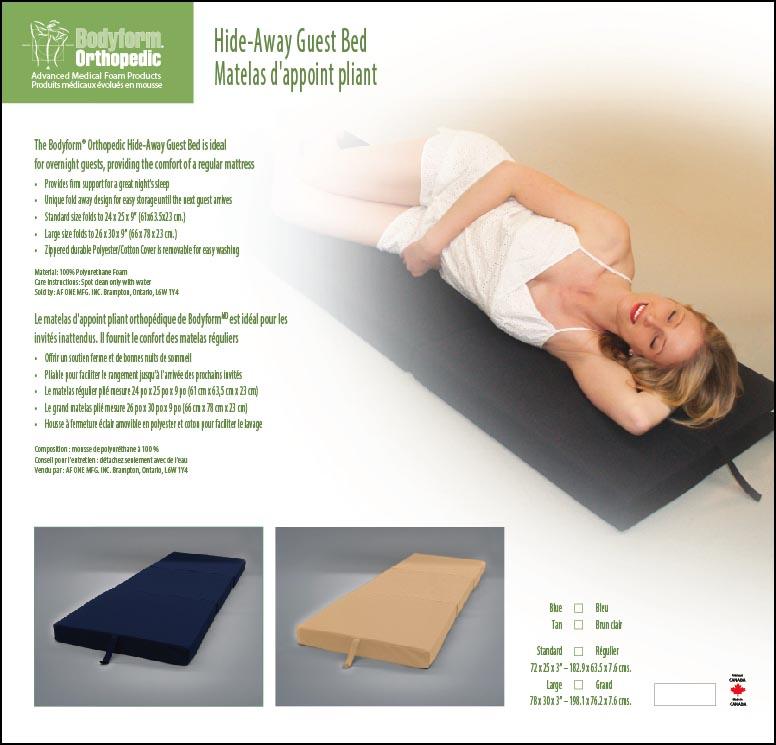 Hide-Away Guest Bed Package