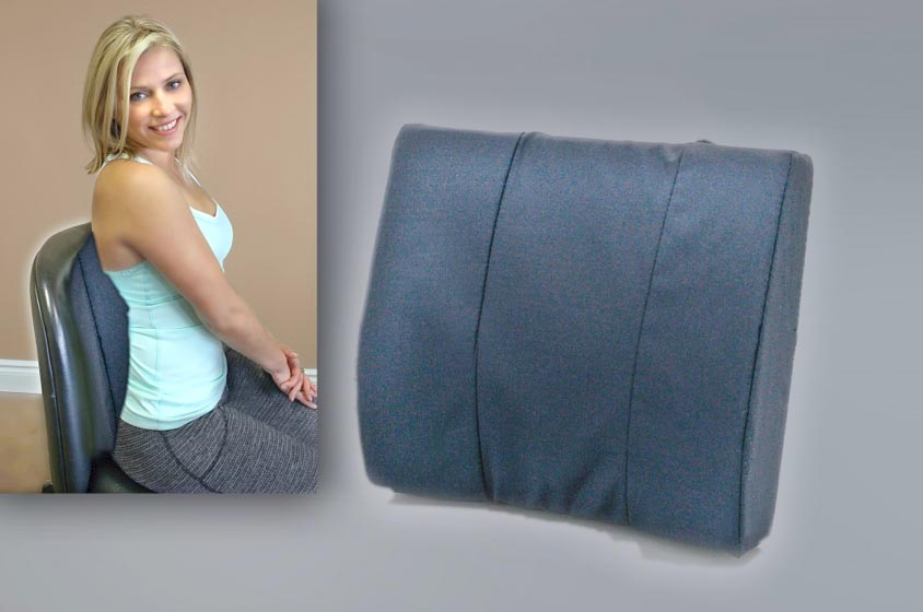 Lumbar Back Support With Inset