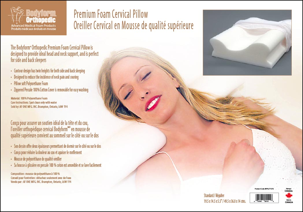Premium Foam Cervical Pillow